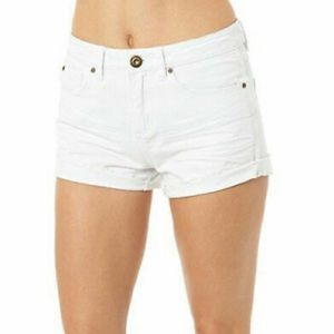 White High Rise O'NEILL Shorts